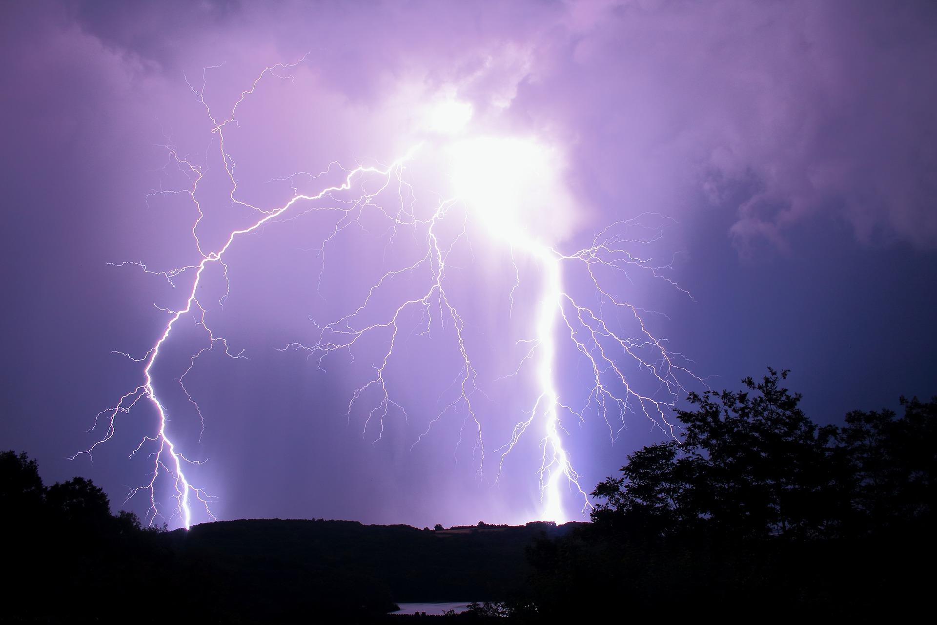 Prognoza burz na dzień 05.10.2020 i noc 05/06.10.2020
